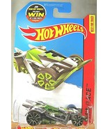 2015 Hot Wheels #160 HW Race-Super Chromes RD-06 Chrome Variant w/Green TRAP5 Sp - $7.00