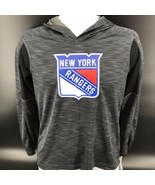 New York Rangers Long Sleeve Performance Pull Over Size Youth Large (12/... - $29.99