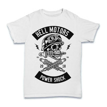 Shock Breaker Skull T shirt motorcycle biker garage mechanic S-3XL - $12.59+