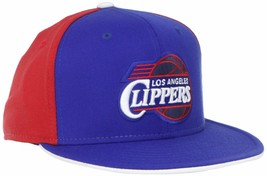 Los Angeles LA Clippers NBA Ball Cap Flat Bill, 2-Tone, FlexFit L/XL, Sh... - $16.68