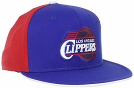 Los Angeles LA Clippers NBA Ball Cap Flat Bill, 2-Tone, FlexFit L/XL, Ships FREE - $16.68