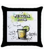 Throw pillow case chill out bar cocktail tequila boom - $19.50
