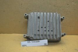 03-04 Oldsmobile Bravada  Engine Control Unit ECU 12574976 Module 180-6D4 - $23.19