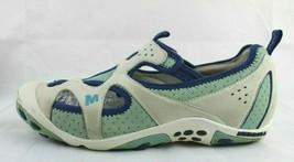 Merrell Rista Milky Femmes Bleu Randonnée Camping Eau Chaussures Sport T... - $20.77