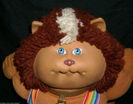 VINTAGE 1983 CABBAGE PATCH KIDS KOOSAS BROWN BABY DOLL STUFFED ANIMAL PL... - $21.88