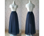 Tulle skirt black dot knot 5 thumb155 crop