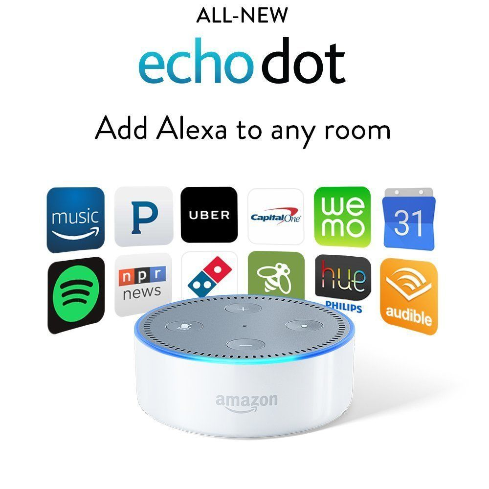 Amazon Echo Dot (2nd Gen) Black or White or Amazon Tap New