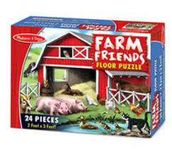 Farm Friends Floor Puzzle by Melissa & Doug - $13.00