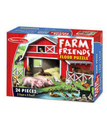 Farm Friends Floor Puzzle by Melissa & Doug - $12.00