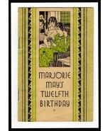 Kotex Advertising 1932 Brochure Art Deco Cover Graphics Mother Daughter ... - $18.99