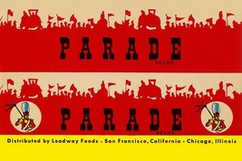 Parade Broom Label - Art Print - $19.99+