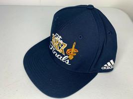 NEW Adidas 2017 Cleveland Cavs Cavaliers NBA Finals Snapback Blue Hat LE... - $9.89
