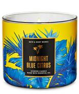 Bath & Body Works Midnight Blue Citrus Three Wick 14.5 Ounces Scented Ca... - $23.95