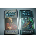 A Game of Thrones LCG chapter pack lot of 2 the pirates of lys here to s... - $10.98