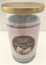 "Yankee Candle ""SHIMMERING AUTUMN LEAVES"" Fragrance, in Tumbler with Deco... - $18.00"