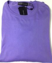 RALPH LAUREN UOMO Maglione in cotone colore viola. ETICHETTA NERA TAGLIA... - $157.81