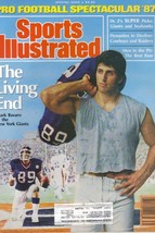 Sports Illustrated Magazine, 1987, Pro Football Spectacular, The Living End - $3.75