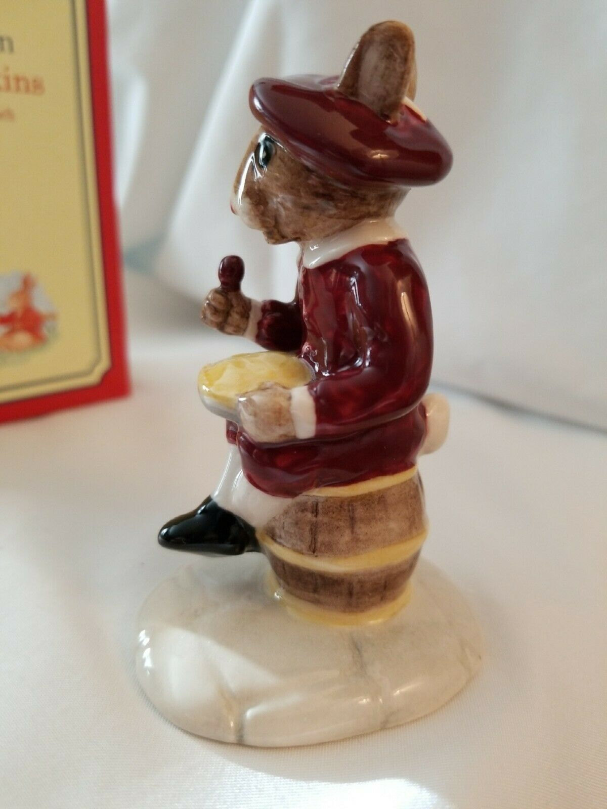 Royal Doulton Bunnykins Little Jack Horner DB221 With original box image 5