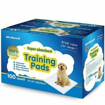 Puppy Training Pads Floor Cover Protection 100 pcs Small Dogs Urine Abso... - $36.31