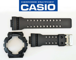Casio GA-110 Genuine Watch Band & Bezel Rubber Strap  Black G-Shock GA-... - $48.02