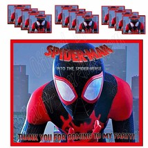 Spiderman Stickers Party Favors Supplies Gift Bag Labels STICKERS ONLY 1... - $12.82