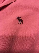 Abercrombie Girl's Pink 3/4 Sleeve Polo Shirt - Size: Large image 5