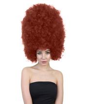 Super Size Jumbo Dark Auburn Afro Wig HW-1579 - £27.66 GBP