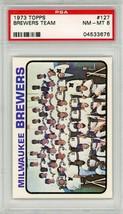 1973 Topps Milwaukee Brewers Team #127 PSA 8 P777 - $13.55
