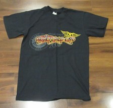 Aerosmith Aeroforce One 2006 Official Member Black T-Shirt Size S - $6.79