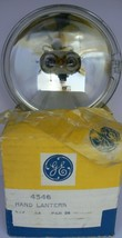 ONE NEW GE NO. 4556 .5 AMP 4.7 VOLT GLASS SEALED BEAM HAND LANTERN LAMP NOS - $21.77