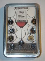 Teresa DeLeen Typewriter Key Wine Charms - $50.00