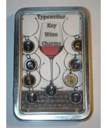 Teresa DeLeen Typewriter Key Wine Charms - $59.95