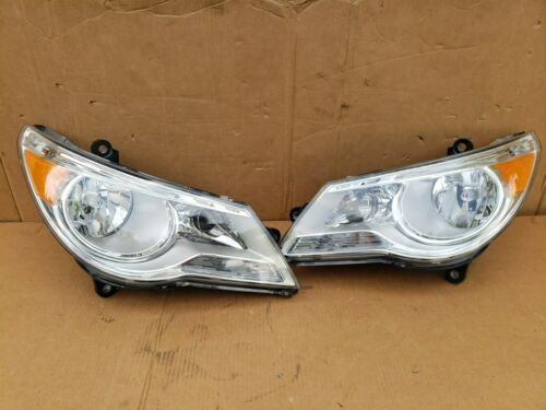 09-12 Volkswagen VW Routan Halogen Headlight Head Light Lamp Set LH & RH