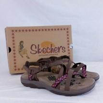 Skechers Reggae Slim Vacay Sandals NEW Flip Flops Caribbean Wide Memory ... - $39.99