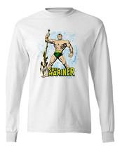 Sub-Mariner T-Shirt Prince Namor retro vintage Comics cotton long sleeve tee image 2
