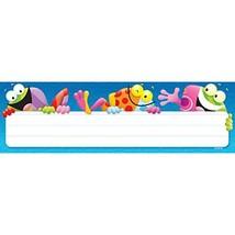 TREND enterprises, Inc. Frog-tastic! Desk Toppers Name Plates, 36 ct - $10.29