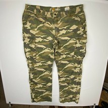 Carhartt relaxed fit cargo pants size 44 x 32 camouflage cotton - $17.81