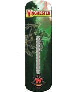 "Nostalgic Tin Thermometer ""Winchester Rider "" Thermometer Wall Hanging - $12.25"