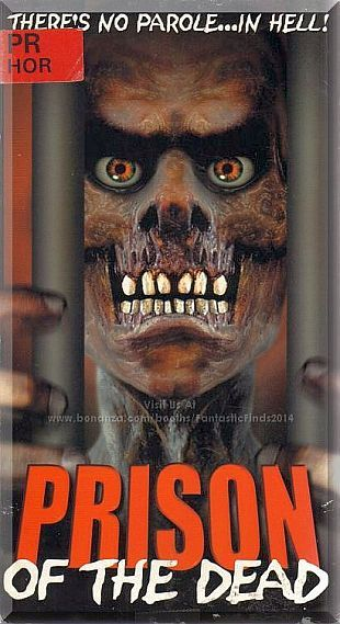 VHS - Prison Of The Dead (2000) *Kim Ryan / Alicia Arden / Full Moon Pictures*