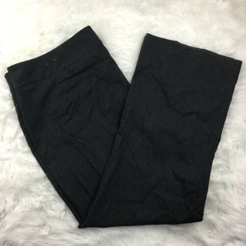 Lane Bryant Women's Gray Career Professional Dress Pants Size 26 Average