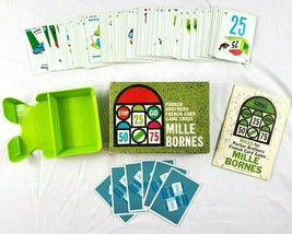 Vintage Parker Brothers MILLE BORNES French Card Game Complete 1962 Exce... - $38.69
