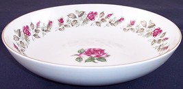 """Diamond China Moss Rose 9.25"""" Round Vegetable Serving Bowl, Excellent Co... - €13,94 EUR"""