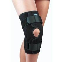 FLA Safe T-Sport Wrap-Around Hinged Knee Brace Open Patella Easy Slip-on Style - $52.90+
