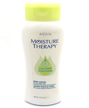 NEW Avon Moisture Therapy Body Lotion Dry Flaky Skin Cucumber13.5 oz  40... - $19.79