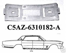 1965-1966 CUSTOM FULL SIZE GALAXIE LTD ROCKER PANEL CLIP, SET - $46.48