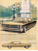 Vintage 1963 Magazine Ad Pontiac Lose Your Heart To Our New Grand Prix - $5.93