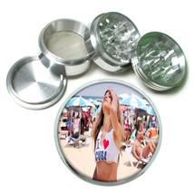 Cuban Pin Up Girls D6 63mm Aluminum Kitchen Grinder 4 Piece Herbs & Spices - $13.81