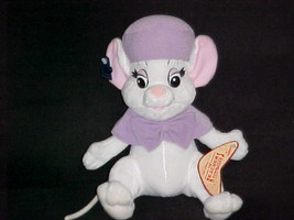 """11"""" Bianca Mouse Plush Toy With Tags Disney The Rescuers By Applause Nice - $56.09"""
