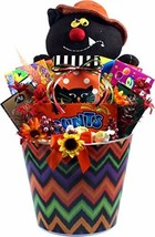 Gift Basket Village - Halloween Party Pail Of Treats - Large Halloween G... - $118.61