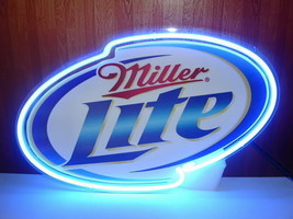 "New Miller Lite Beer Bar Neon Sign 14""x10"" Ship From USA - $69.99"